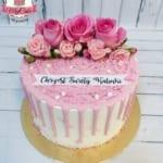 MajCake - Tort Drip Cake Chrzciny