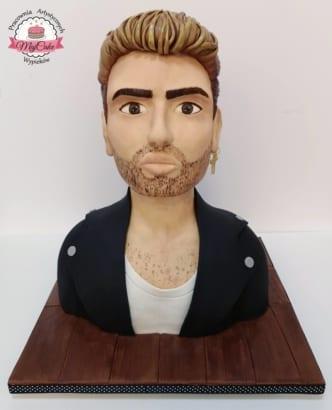MajCake - tort 3d George Michael