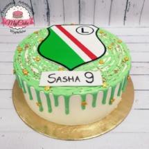 MajCake - Drip Cake Legia