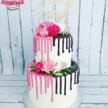 MajCake - Drip Cake Wesele