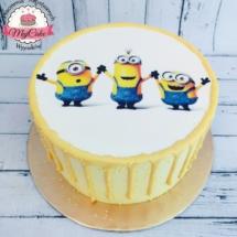 MajCake - Drip Cake Minionki